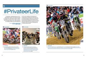 Being a privateer in our sport has never been harder, but a talented and dedicated group of riders are still giving it all they've got, every single weekend. Page 106.