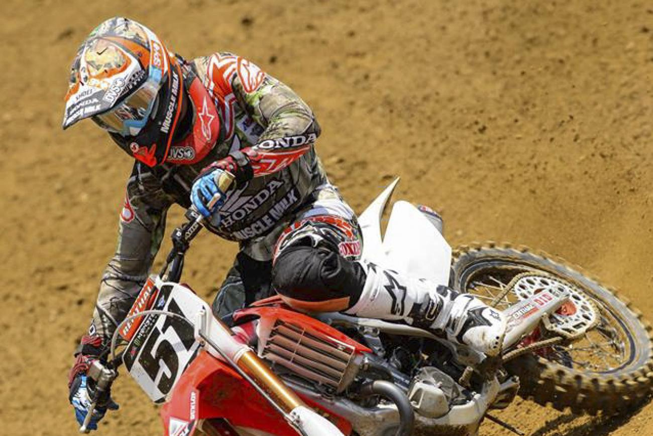 Who will win the 450 title in Lucas Oil Pro Motocross?