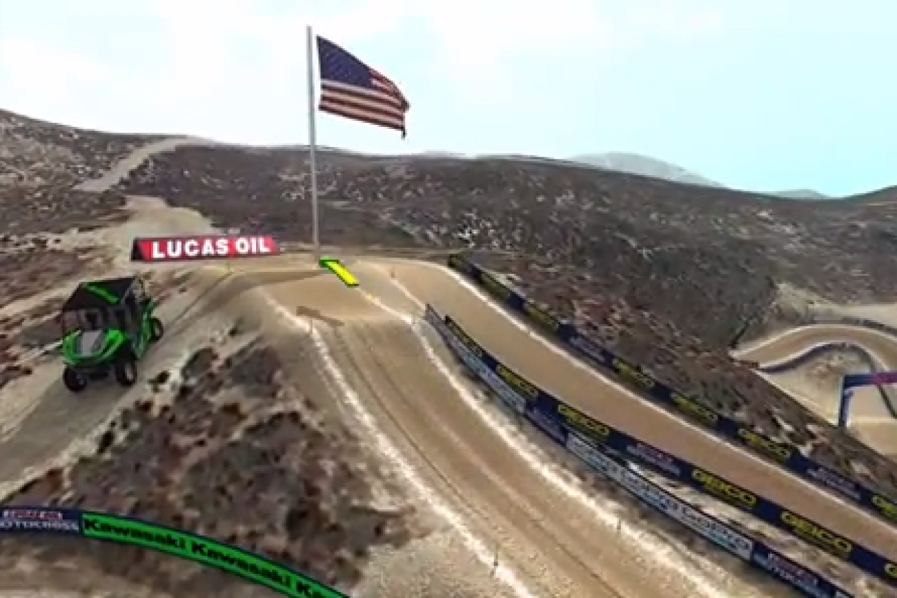 Animated Track Map: Glen Helen