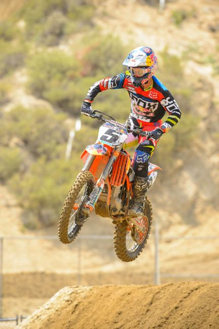 Dungey has an active National start streak of 72 races.Photo: Simon Cudby