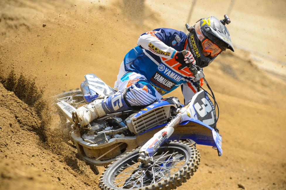 Cooper Webb clearly likes wearing helmet cameras.