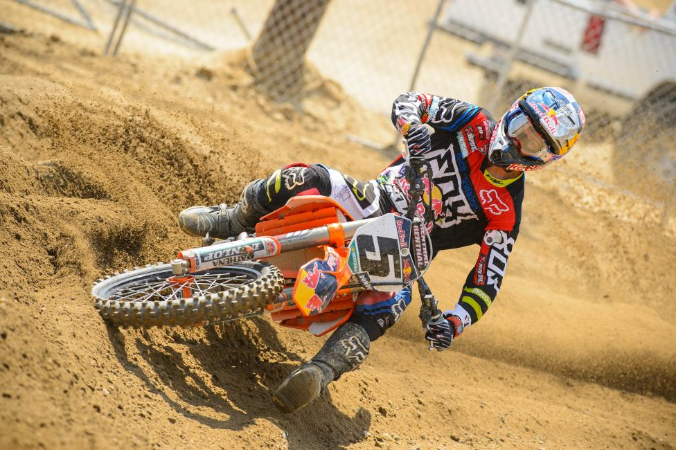 "Will Dungey put an end to all this ""wide-open"" talk? Photo: Simon Cudby"