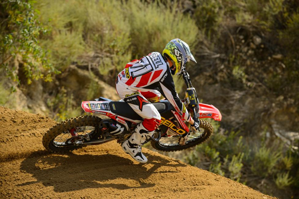 Zach Bell will be in action for the first time since Phoenix at Glen Helen.  Photo: Simon Cudby