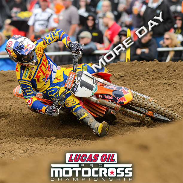 Ryan Dungey is looking for his third 450MX title.  Photo: Simon Cudby