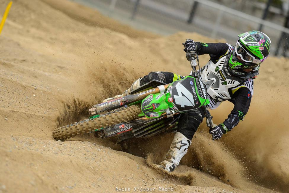 Baggett is one of the favorites at his home track -- Glen Helen -- this weekend.