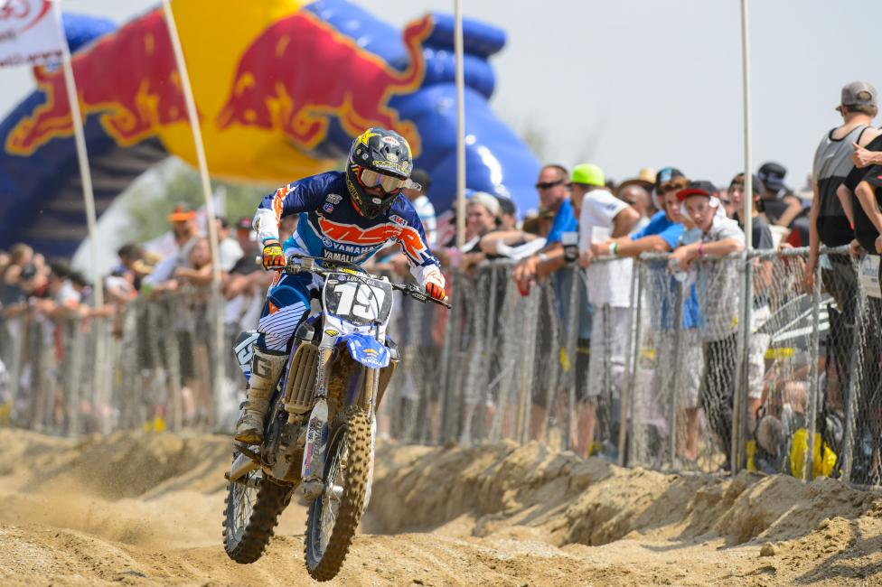 Martin won his first career National in dominating fashion at Glen Helen. Photo: Simon Cudby