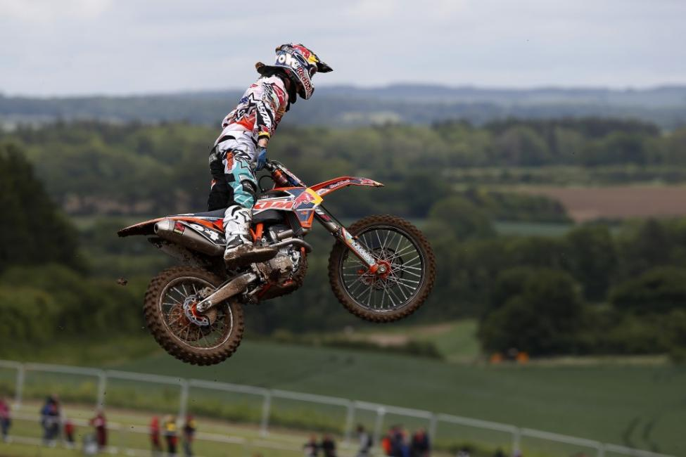 Jeffrey Herlings continues to stretch his points lead in MX2.  Photo: Ray Archer