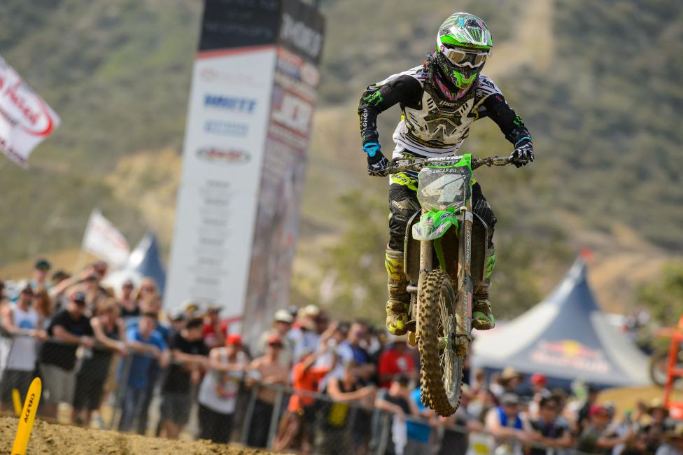 Glen Helen did not go as planned for Blake Baggett and the Pro Circuit team.  Photo: Simon Cudby