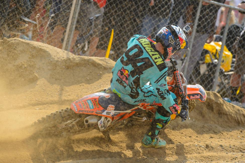 Roczen had to be disappointed by not capturing the overall at Glen Helen, but he handled the defeat with class.