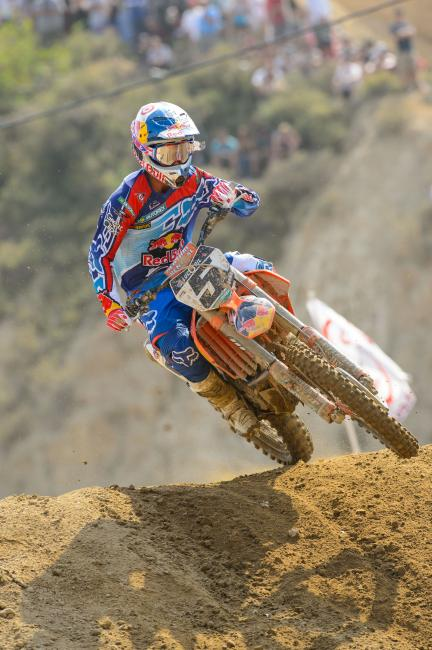 Ryan Dungey did what Ryan Dungey does at the opener.  Photo: Simon Cudby