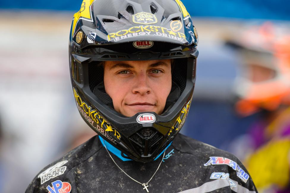 Jeremy Martin won his first career overall at Glen Helen.  Photo: Simon Cudby