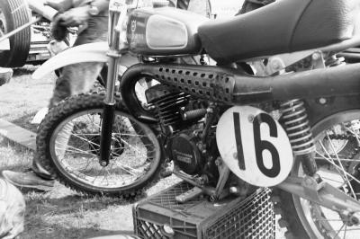 Husqvarna made big news last week with the announcement of their return to racing with #17 Jason Anderson... Well, this is what #16 Marty Tripes' Husky looked like in 1974!