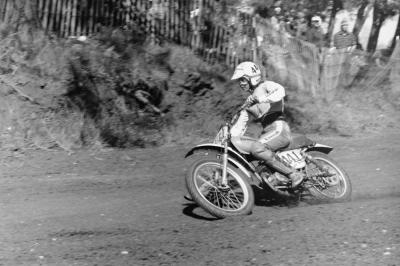 And this man is still in the industry too: Matrix Concepts' founder Eddie Cole was a Kawasaki 125cc factory rider back in 1974. He told us the bike was good, but only good for two and a half motos!