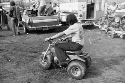 Somewhere online Nick McCabe is smiling, thinking, 'I'm going to have to find that trike and add it to my ATC three-wheeler collection!'