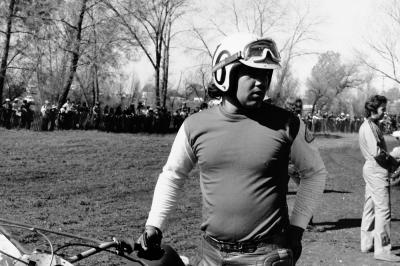 Marty Tripes before going out and finishing second overall on his 250 Husqvarna. Like Gary Jones he was a Honda rider in '73, only to switch brands (and he would switch again later that year, finishing the series on a Can-Am like Jones).