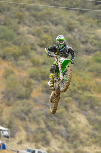 Blake Baggett looks to overcome a slow start at Glen Helen this weekend.