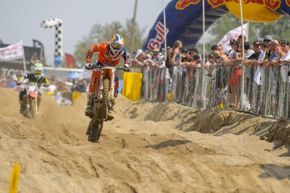 Will Musquin's shoulder allow him to contend for a podium spot?