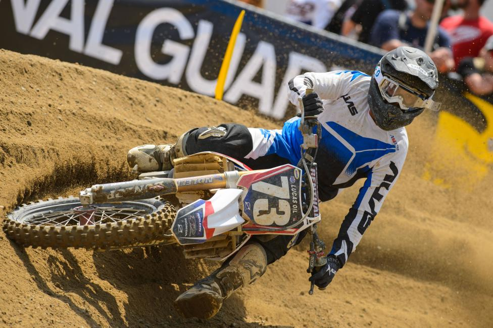 Epstein has a deal to race the first three rounds of Lucas Oil Pro Motocross.