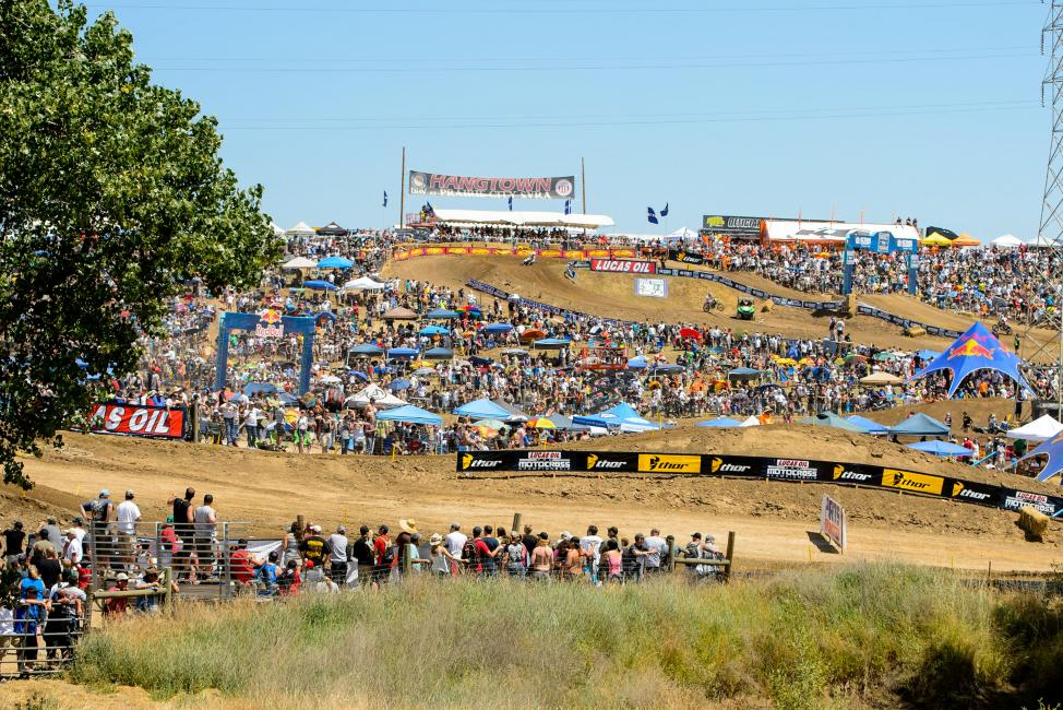 Lucas Oil Pro Motocross heads to Hangtown for round 2 this weekend.  Photo: Simon Cudby
