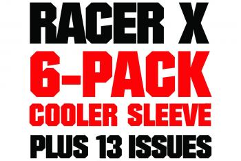 Racer X Cooler Sleeve with Subscription