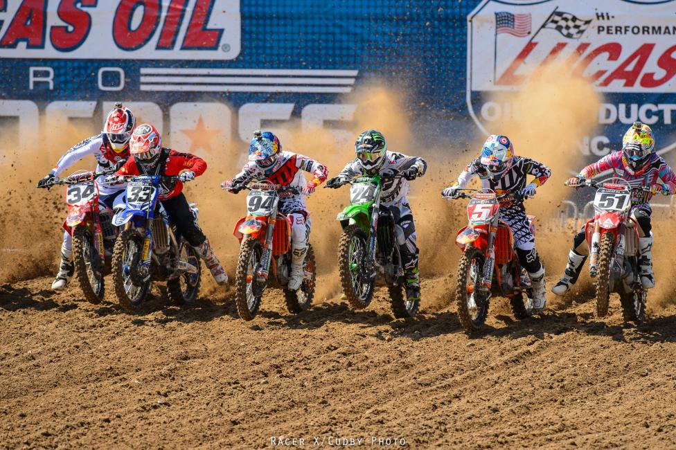 A boring race is always good for one guy, and today that guy was Roczen.Photo: Cudby
