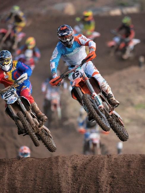 Kirk Gibbs won the Manjimup 15000.  Photo: KTM