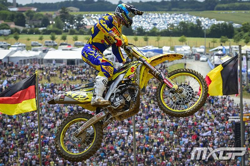 Clement Desalle's 1-1 performace in France pulled him to within 20 points of Antonio Cairoli.