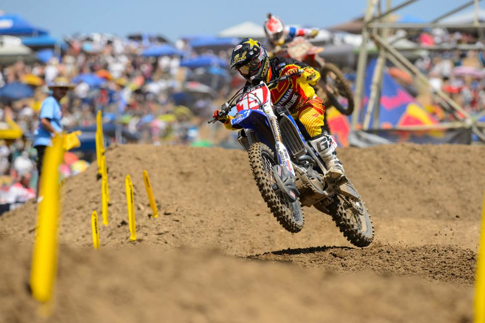 """I don't really look at it as dominating. I think these guys are really strong."" - Jeremy Martin.  Photo: Simon Cudby"