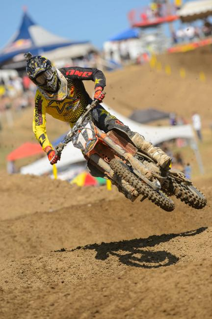 Anderson has one moto podium through four motos.