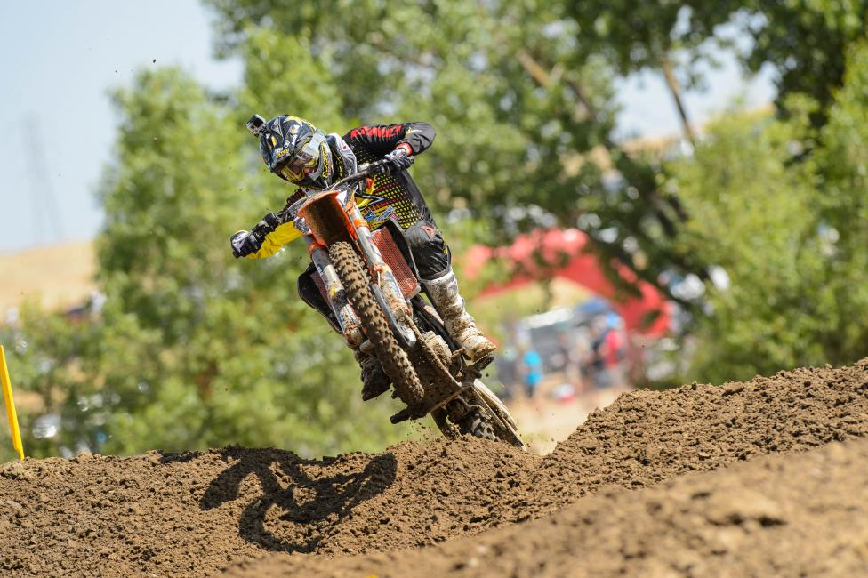 Anderson is currently sixth in the 250 Class point standings, but he's been much faster than that.  Photo: Simon Cudby