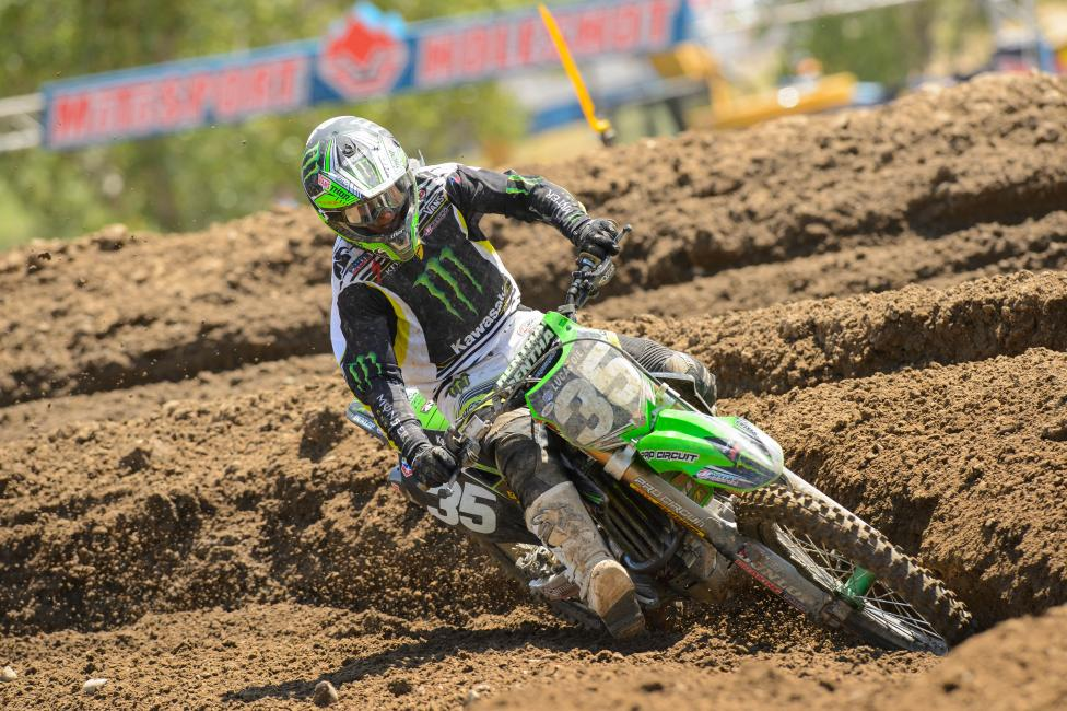 Justin Hill narrowly missed out on his first career podium on Saturday.