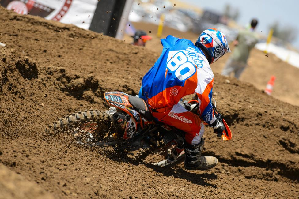 Noren had a career high finish at Hangtown.  Photo: Simon Cudby