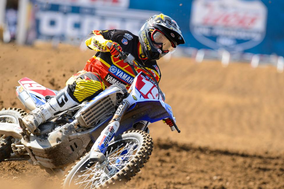 Jeremy Martin and Star Racing have yet to lose a moto in 2014.  Photo: Simon Cudby