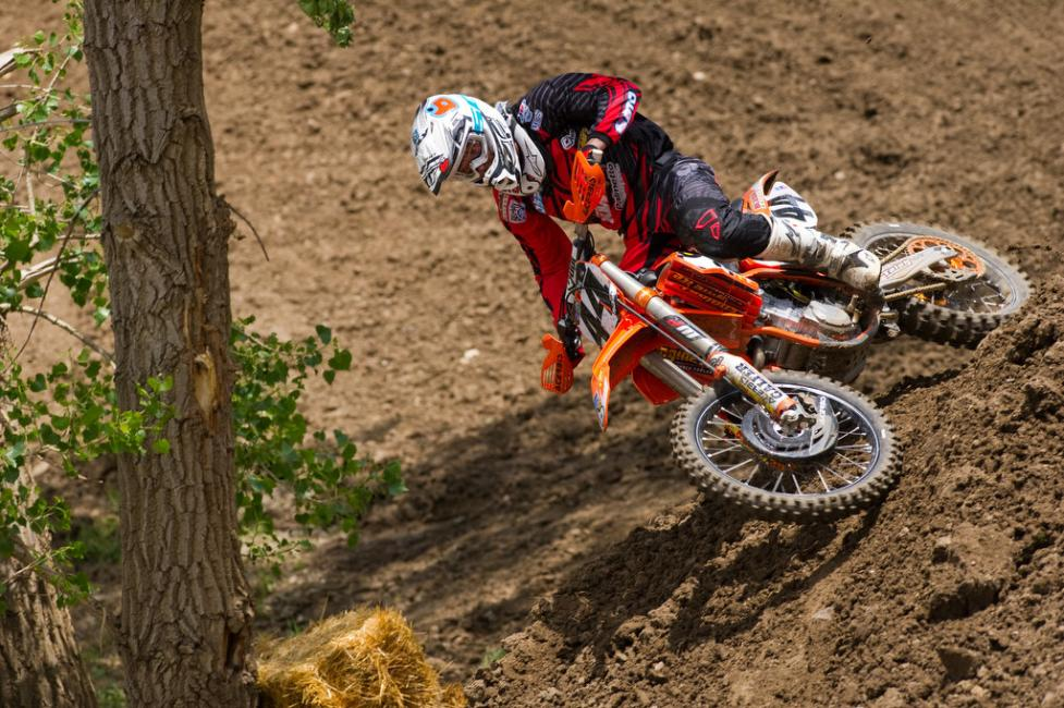 Matt Goerke will make his Lucas Oil Pro Motocross debut this weekend.  Photo: John Hanson
