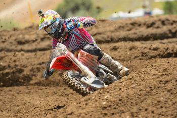Justin Barcia a Late Scratch for Thunder Valley