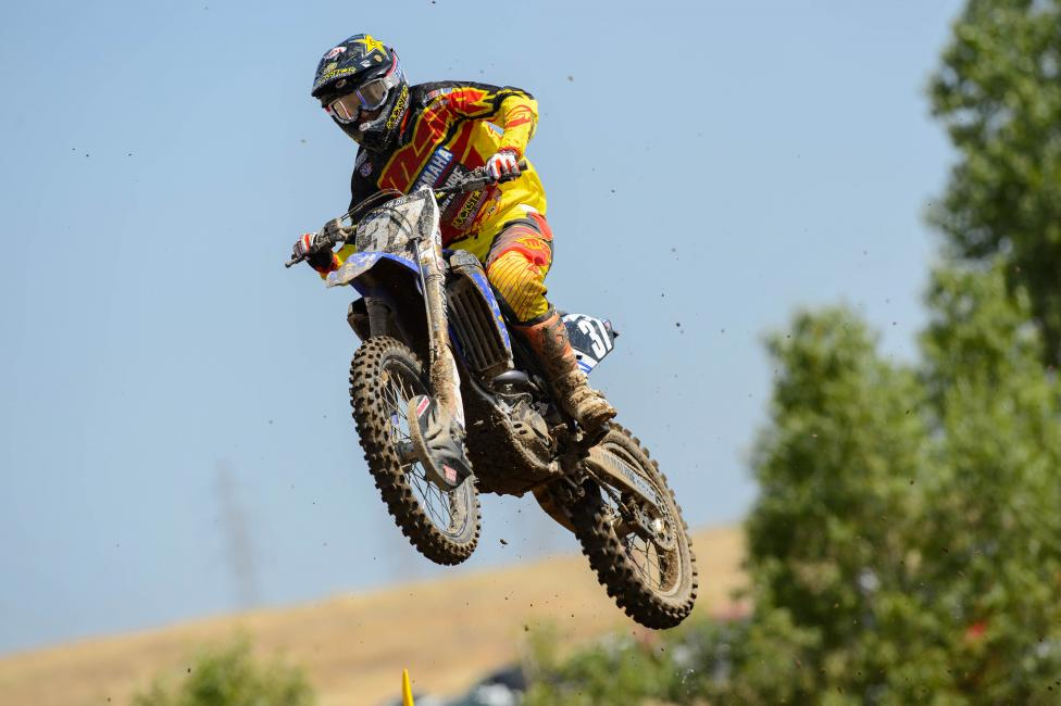 Can Cooper Webb top his teammate Jeremy Martin and secure his first career overall? Photo: Simon Cudby