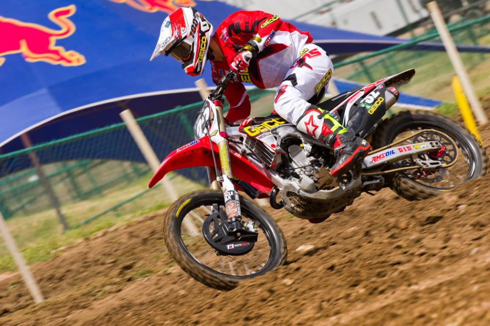 Justin Bogle had his first podium of the season in moto one at Hangtown. Can he find repeat success in Colorado? Photo: John Hanson
