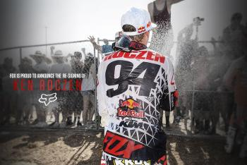 Fox Inks Ken Roczen to new Deal
