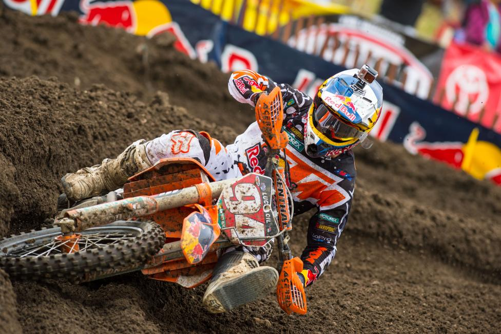 Ken Roczen won his second straight 450 Class overall at Thunder Valley.  Photo: Simon Cudby