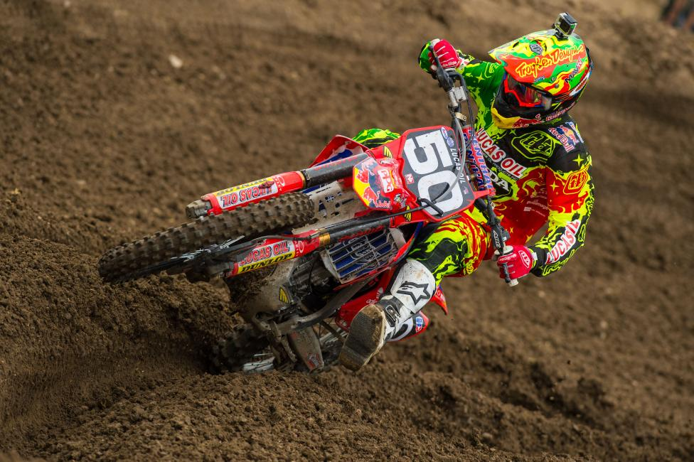 The 2012 MX Rookie of the Year is finally healthy, and it's showing. Photo: Simon Cudby
