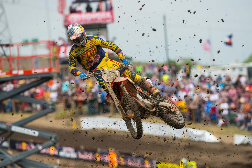 Ryan Dungey has made 76 straight AMA National Motocross starts.Photo: Simon Cudby