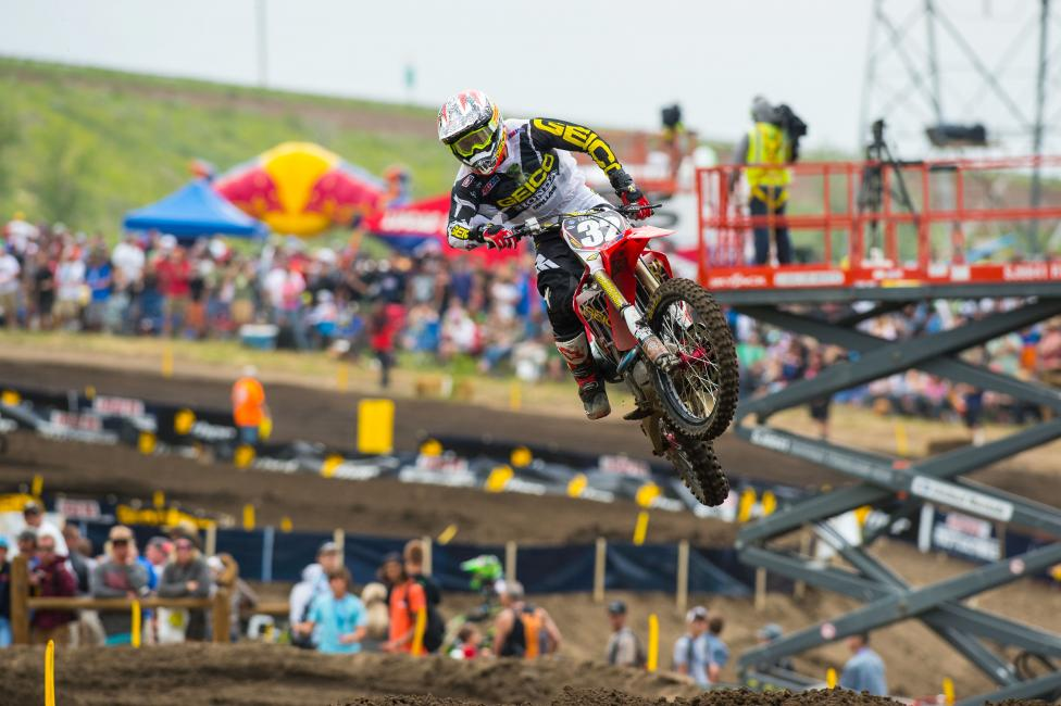 Justin Bogle is taking on more of a leadership role for GEICO Honda.  Photo: Simon Cudby