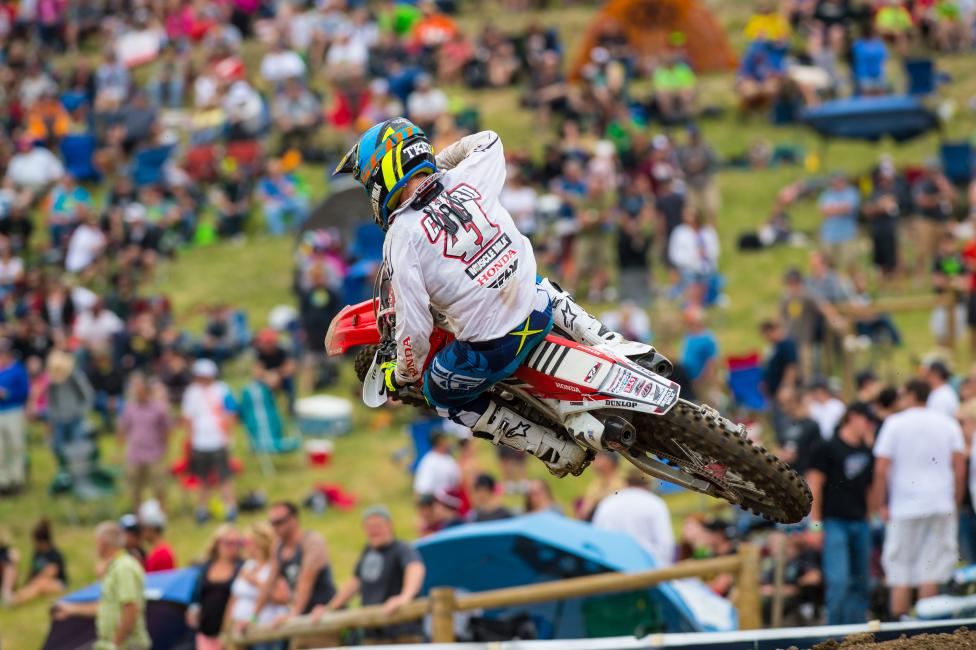 Another strong, consistent day for Trey Canard.  Photo: Simon Cudby