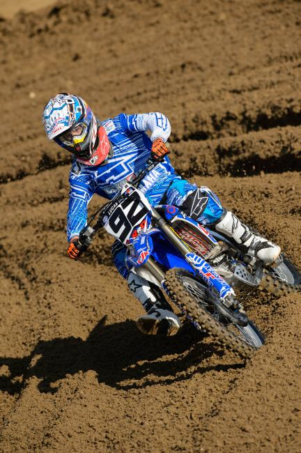 Rusk has three top fifteen finishes in the last four motos.  Photo: Simon Cudby