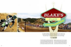 Blake Baggett had an advantage on his peers going into the season-opening Glen Helen National: the actual keys to Glen Helen itself! Page 126