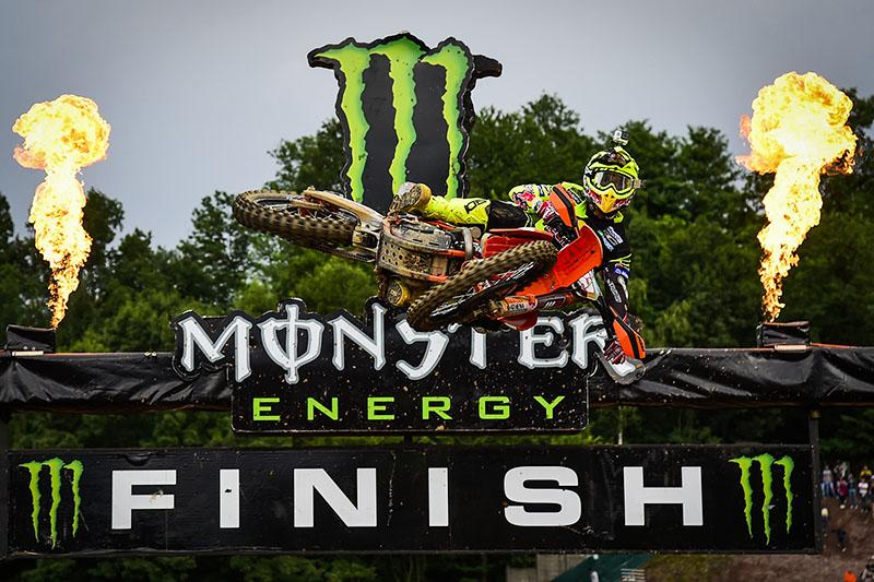 Antonio Cairoli went 1-1 in Italy.  Photo: MXGP