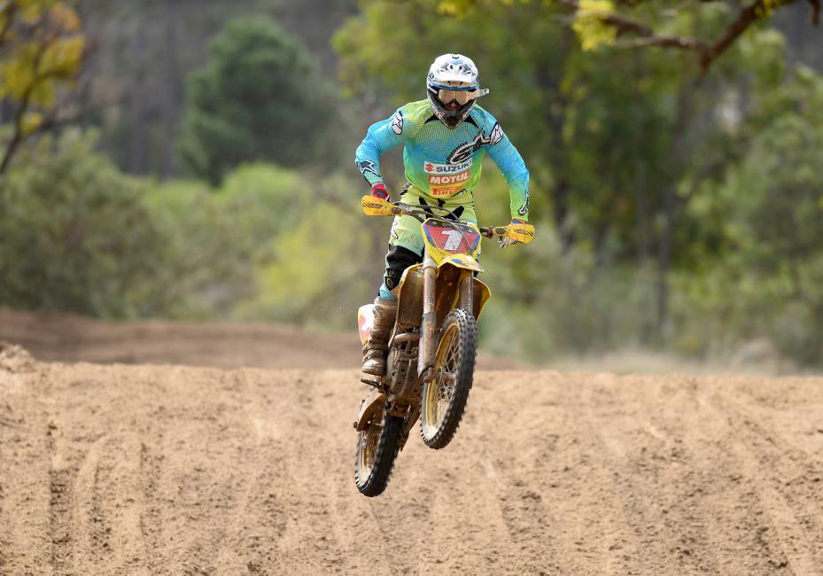 Matt Moss leads Down Under. Photo: Jeff Crow