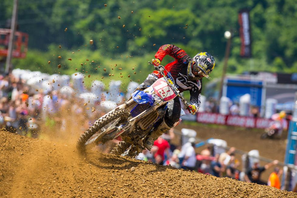 """""""I noticed when I had the win streak going that everyone was really, really trying to put me down. But it doesn't bug me."""" - Jeremy Martin Photo: Simon Cudby"""