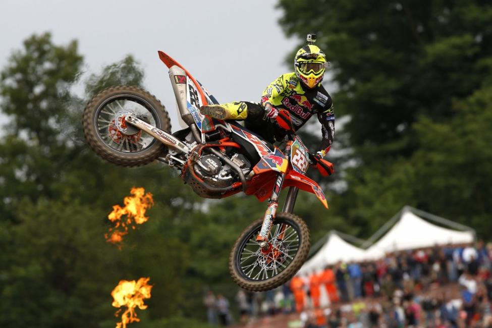 Tony Cairoli won on home soil to collect his 69th career win. Photo: Ray Archer