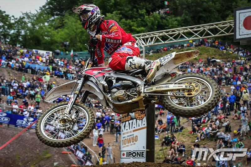 Jeremy Van Horebeek went 2-2 to finish second behind AC.  Photo: MXGP